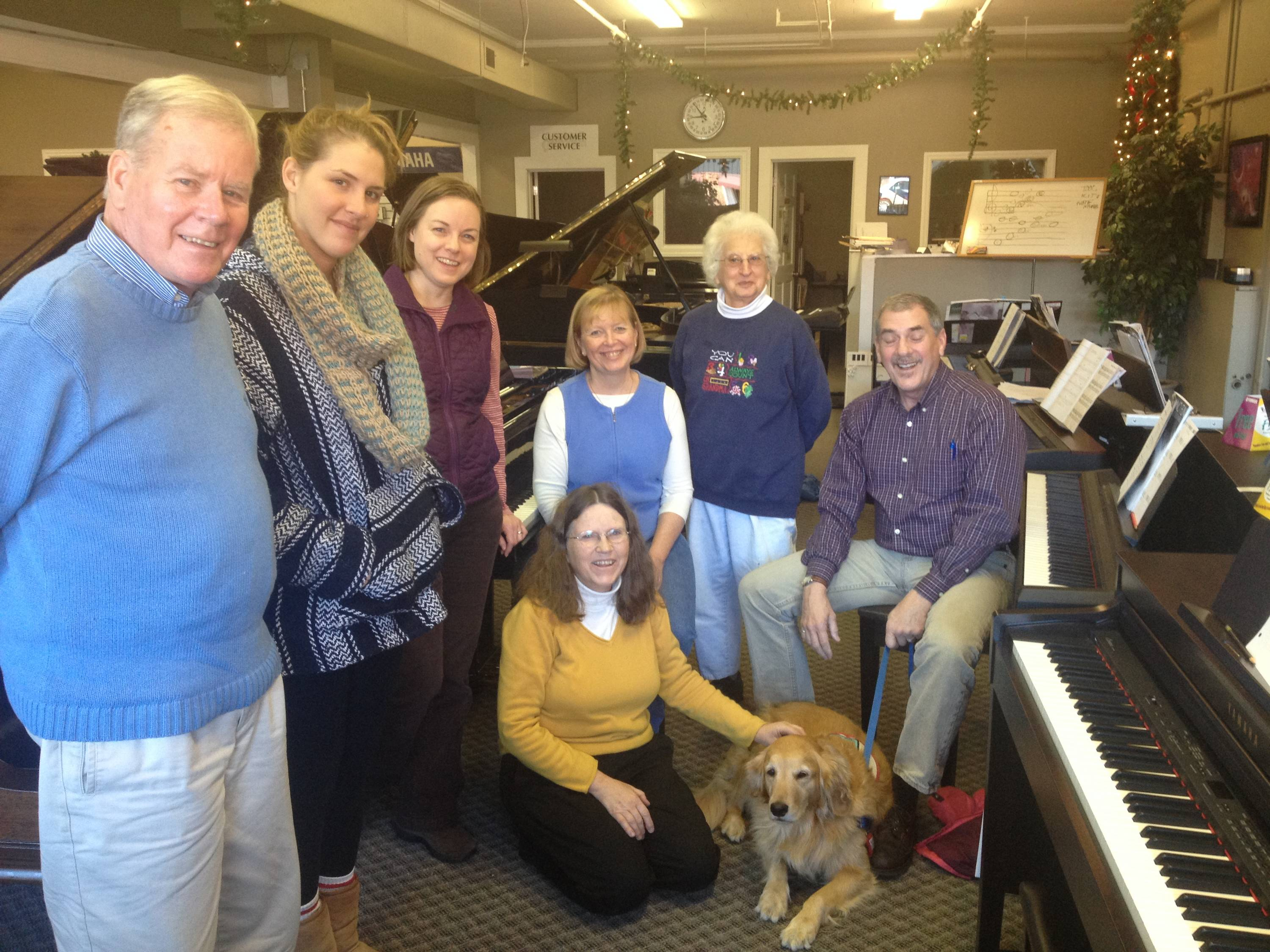 Piano Fun for Adult Beginners Fall 2014 class